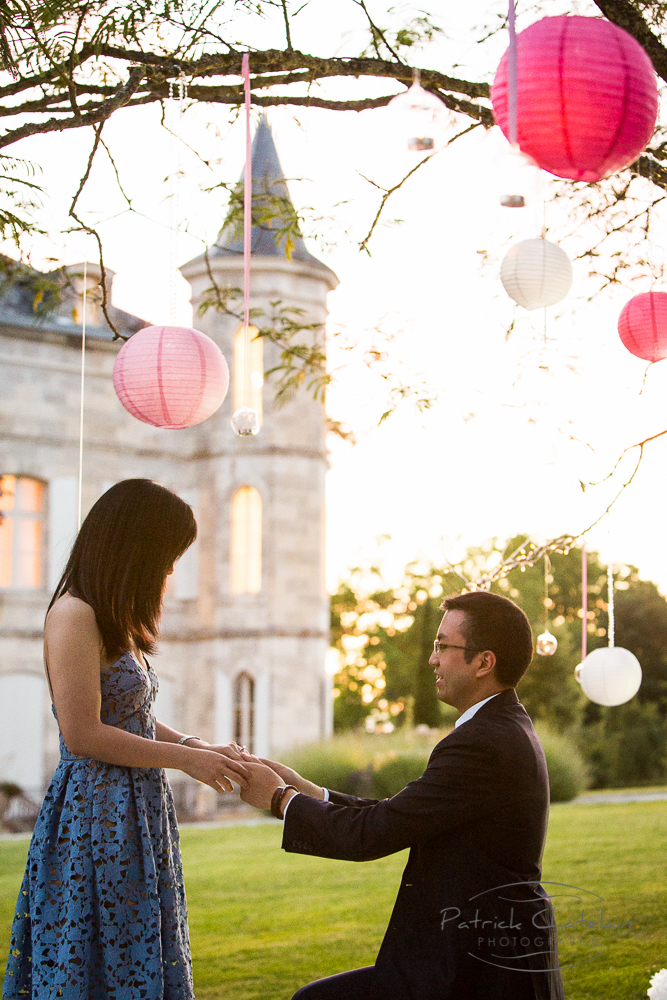 Proposal photographer Bordeaux Souh west France Photographer